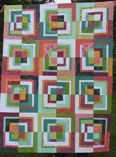 modified bento box quilt top by filminthefridge, via Flickr
