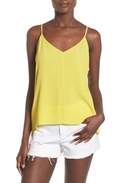 Elodie Open Back Woven Camisole available at #Nordstrom