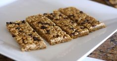 This No Bake Homemade Chewy Granola Bars Recipe is amazing. Using real ingredients like honey, coconut oil, oats, ground flax seeds and peanut butter. YUM!