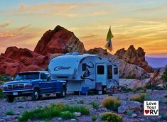 Free Camping at the Whitney Pockets BLM Nevada - Of course the best thing to do at Whitney Pockets is absolutely nothing. Just sit back with a beverage in hand and enjoy the vistas and natural surroundings of the high desert. This has been one of our favorite boondocking locations of this snowbird season. We plan to return again sometime for a longer stay.  http://www.loveyourrv.com/free-camping-whitney-pockets-blm-nevada/