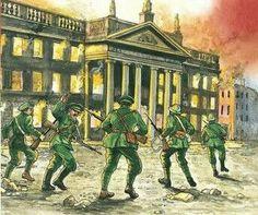 Ireland 1916, Painting, Art, Art Background, Painting Art, Kunst, Paintings, Performing Arts, Painted Canvas
