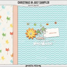 Quality DigiScrap Freebies: Christmas in July tiny kit freebie from The Digital Press
