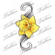 daffodil tattoo - Google Search