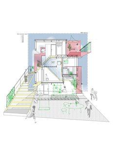 Gallery of Around the Corner Grain / Eureka + MARU。architecture - 21