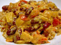 Maharagwe (Kenyan bean coconut stew) - I also added a few cloves of garlic, 2 cardamom pods and a cinnamon stick! yum!