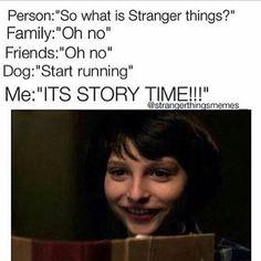 stranger things!