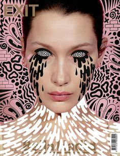Enjoy the pop-surreal doodles on cover magazine by the London based illustrator Hattie Stewart. Fashion Magazine Cover, Fashion Cover, Magazine Art, Punk Magazine, Digital Collage, Collage Art, Fridah Kahlo, Wallpaper Magazine, Portrait Illustration