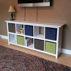 10 Cube Shelf
