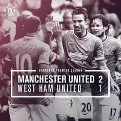 MU 2-1 West Ham Rooney & RVP