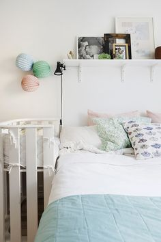 plank boven bed