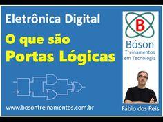 #Eletrônica #Digital - O que são Portas Lógicas