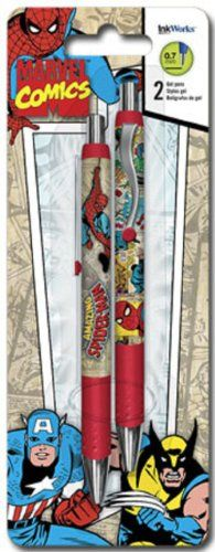 InkWorks SpiderMan Gel Pens *** Check out the image by visiting the link.Note:It is affiliate link to Amazon.