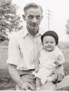 Winton and baby James Dean