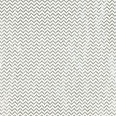 Silver Foil Chevron Recycled Gift Wrap