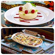Indulge in new menu items, the most savory key lime pie or a hearty veggie flatbread at Crossroads at House of Blues.