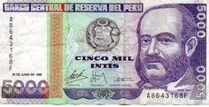 Peru Money $ 5,000 USD S/. 15,369.83 PEN
