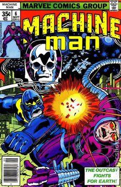 MACHINE MAN 6, JACK KIRBY, BRONZE AGE MARVEL COMICS