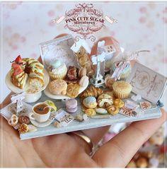 2,019 отметок «Нравится», 10 комментариев — My Tiny Objects (@mytinyobjects) в Instagram: «Paris Petit Café by @pinkcutesugar_miniatures»