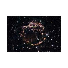 "Supernova Remnant Cassiopeia A (12"" x 18"")"