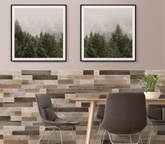 Global trends in wood-look tiles include designs which combine different shades of wood to create an exciting new interpretation of cladding. This is ideal for creating a warm feature wall above a fireplace, on a covered patio or your dining room. #featurewall #woodlook #naturallybeautiful #cladding #home #homedecor #trendingdesign #homegoals Outdoor Furniture Sets, Tiles, Johnson Tiles, Tile Design, Tile Cladding, Wall And Floor Tiles, Wood Look Tile, Interior Design, Trendy Home