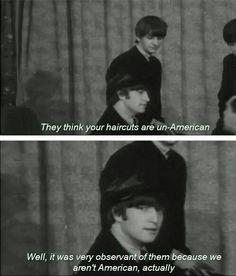 "John,""A hard day's night"" film, 1964"