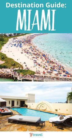 Planning a trip to Miami? Check out this destination guide. Learn about 5 things to do in Miami, 4 places to stay in Miami, and 3 places to eat in Miami, Florida! #Miami #Florida #travel #familytravel #vacation #beach #beaches #miamibeach