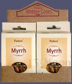 Tulasi Myrrh Cone Incense