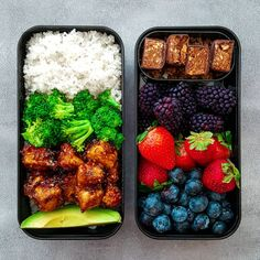"2,017 Likes, 51 Comments - Tanairí | Peas & Love Owner (@peaslovevegan) on Instagram: ""Vibrant bento box lunch ☉. On the left I have white rice, steamed broccoli, crispy teriyaki tofu,…"""