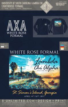 Lambda Chi Alpha white rose formal 2017 #BUonYOU #greek #greektshirts #greekshirts #fraternity #LambdaChiAlpha #formal Lambda Chi Alpha, Theta Chi, Fraternity Shirts, Greek Shirts, University Of South Carolina, Greek Apparel, Greek Clothing, Greek Life, White Roses