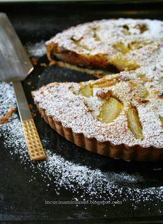 In cucina mi rilasso: Crostata di pere con cioccolato e noci
