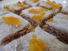 Apricot Coconut and Honey Weetbix Slice