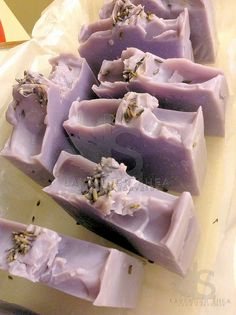 Natural Lavender Soap by LavenderShea on Etsy Lavender Soap, Lavender Sachets, Culinary Lavender, Fragrance Oil, Vitamin E, Natural Oils, Essential Oils, Etsy, Lavender Bags