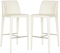 Garretson Bar Stool Buttercream (Set of 2)
