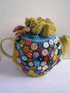 Frilly crochet tea cosy - Coats Crafts UK home