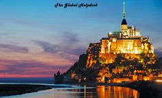 In the early hours of a #winter evening, I received a postcard from Mont #Saint_Michel. The silhouette of a #golden statue atop the castle cajoled the #mystery_lover in me. With a mental note to find out more about it later, I tucked it in my #JRR#Tolkien novel. Little did I know that there was a #connection between the two. Abbey, Prison and #World Heritage Site Angry Archangel and #Disobedient Bishop The Castle That Fought Back Of #Designs, #Patterns and Art The #JRR Tolkien connection