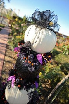 [tps_header]Halloween can be a magical time to tie the knot — and there are so many fun ways to infuse the holiday in your celebration. Here, check out some of our favorite ideas from the spooky Halloween weddings. Halloween Themes, Fall Halloween, Halloween Decorations, Halloween Weddings, Halloween Wedding Centerpieces, Classy Halloween, Halloween Wedding Flowers, Gothic Wedding Decorations, Halloween Wreaths