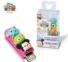 TSUM TSUM USB Drive- so cute! #tsumtsum #usb