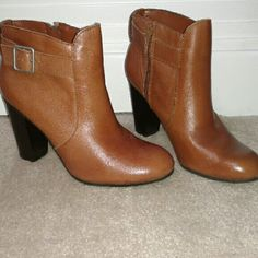 """High Heel Boots. Brand NEW! 3"""" heels this babies look great with jeans!! Liz Claiborne Shoes Heeled Boots"""