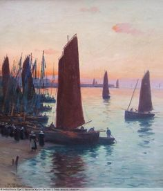 "Paul Philippe 1870-1930 "" Port de  Concarneau """