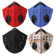 Anti Dust Motorcycle Racing Bicycle Cycling Ski Dustproof Half Face Mask Filter