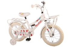 Yipeeh Liberty Urban White 14 inch girls bicycle 95% assembled