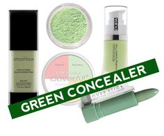 Using Green In Your Makeup: Here's some help at hand to give you an insight on to how you can make good and effective use of the green concealers and primers.