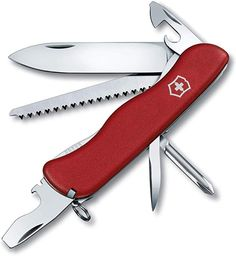 The Adventurer Pocket Knife from Victorinox Swiss Army is a handy utility knife for everyday tasks. This conveniently compact tool is easy to use and features 11 implements, including a large locking blade, 2 screwdrivers, tweezers and more. Victorinox Swiss Army Knife, Leather Belt Pouch, Utility Knife, Knife Sharpening, Knives And Tools, Tactical Knives, Bedding Shop, Pocket Knives, Adventurer
