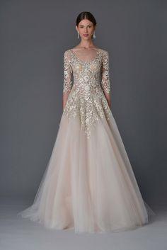 Marchesa Bridal Spring 2017 Fashion Show Collection