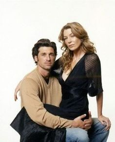 Meredith and Derek <3  Grey's Anatomy; watched every single season and love seeing their relationship evolve.