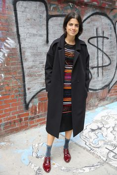 Coat Jokes and Other Ways to Wear Them | Man Repeller // My kind of outfit.