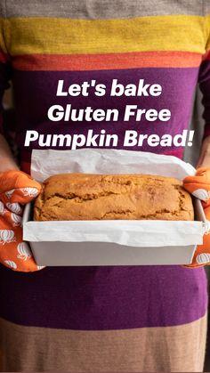 Gluten Free Pumpkin Bread, Gluten Free Flour, Dairy Free, Healthy Foods, Healthy Life, Paleo, Keto, Diet Desserts, Bread Bun