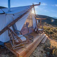 The Vail Collective Retreat at 4 Eagle Ranch - Colorado, USA -  #glamping @glampinggetaway