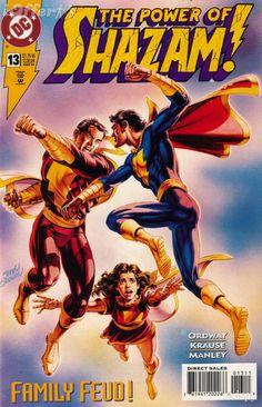 Family Feud:  Captain Marvel, Captain Marvel Jr., and Mary Marvel