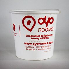 #paper #cup #brandname #advertising  #promote #promotion #disposable #oyo #rooms #hotel #travel